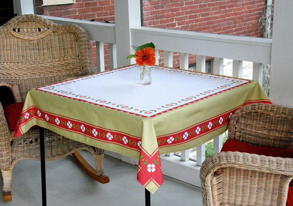 Table Graphic Card Card Table Tablecloth